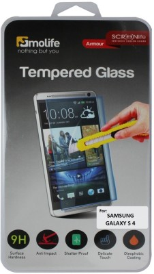 Molife Tempered Glass Guard for Samsung Galaxy S4