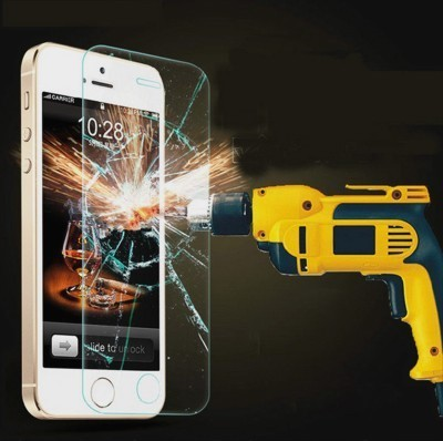Shagun It Solutions Tempered Glass Guard for Apple Iphone 5