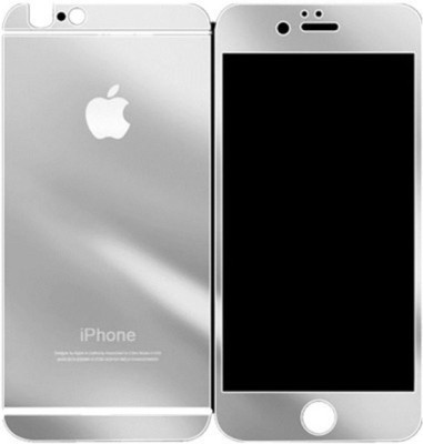 Galaxy Silver Tempered glass Apple iphone 6/6s screen protector Front + Back Mirror Screen Guard for Iphone 6, Iphone 6s