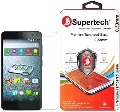 Supertech Tempered Glass Guard for Micromax Canvas Express 2