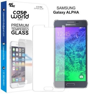 Case World TGAL Tempered Glass for Samsung Galaxy Alpha