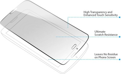 Infolink IL-781 Premium HD Ultra Clear Scratch Proof Tempered Glass for Gionee P2