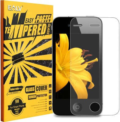 E LV Tempered Glass Guard for Apple iphone 4/4s
