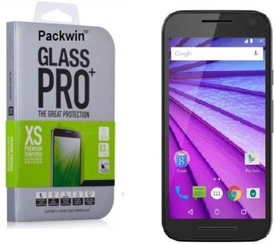 Packwin 17640 3rd Gen 0.3mm Premium HD Finish PRO+ Tempered Glass for Motorola Moto G 3rd Generation