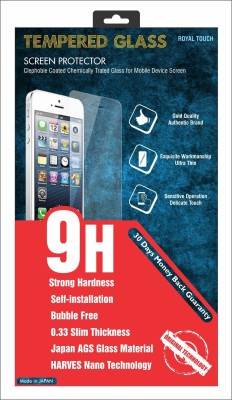 Bullet Proof 9h Hard 0.33mm anti bubble 111 Tempered Glass for Micromax YU Yureka