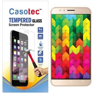 Casotec Tempered Glass Guard for Intex Aqua Trend