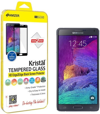 Amzer Tempered Glass Guard for Samsung Galaxy Note 4 Sm-N910