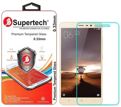 Supertech HD Cryastal Clear Tempered Glass for Xiaomi Redmi Note 3 (New)