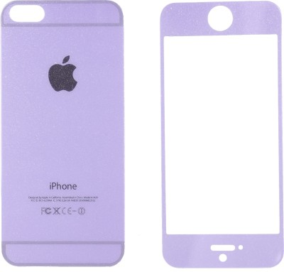 JustX OX-Purple Tempered Glass for Apple iPhone 5