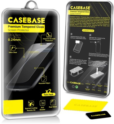 Casebase TG17172 Tempered Glass for Micromax A106