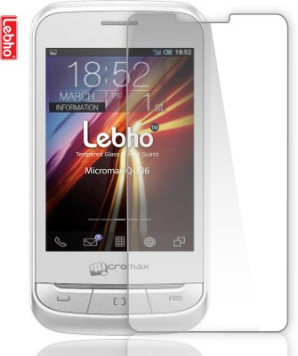 Lebho LBQ336 Tempered Glass for Micromax Bolt Q336