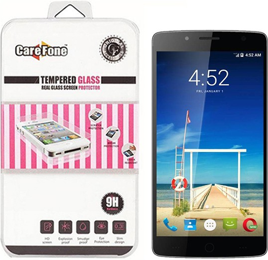 CareFone Tempered Glass Guard for Swipe Elite Sense