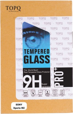TOP Q Tempered Glass Guard for Sony Xperia M2