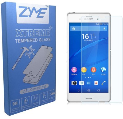 ZYME Xtreme Plus Z-18 2.5D Curved Tempered Glass for Sony Xperia M4