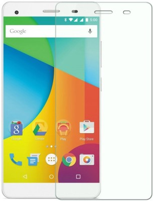 Yuron 130 Tempered Glass for Lava Pixel V2