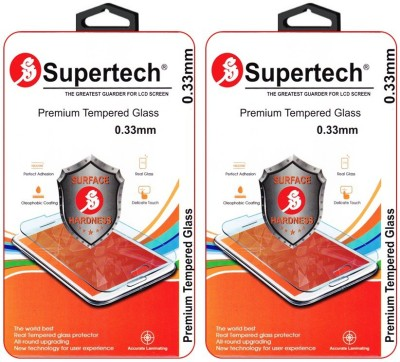 Supertech ZD551KL-1I202WW Curved HD Clear Screen Protector Pack Of 2 Tempered Glass for Asus Zenfone Selfie 5.5