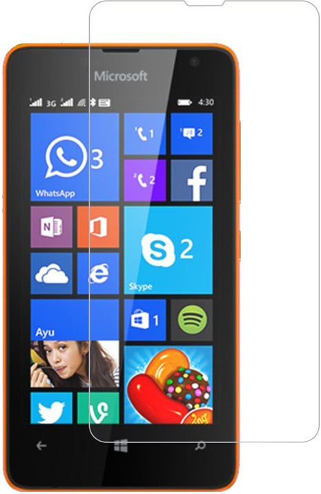 Jaipur Deals Tempered Glass Guard for Microsoft Lumia�430