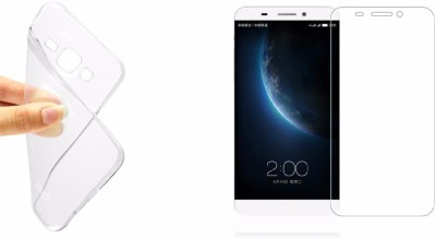 Big Zee BZ- Soft Silicon Totu Cover & Tempered Glass for LeTv Le 1S