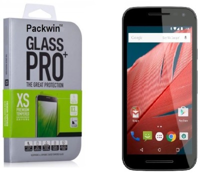 Packwin 17639 2.5D Curve Edge 0.3mm 9H Surface Hardness PRO+ Tempered Glass for Motorola Moto G Turbo Edition