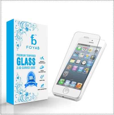 Triveni Tempered Glass Guard for Iphone 5 / 5s