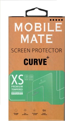 Mobile Care 395-Premium Curve Back Tempered Glass for Apple iPhone 4