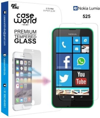 Case World TGNL525 Tempered Glass for Nokia Lumia 525