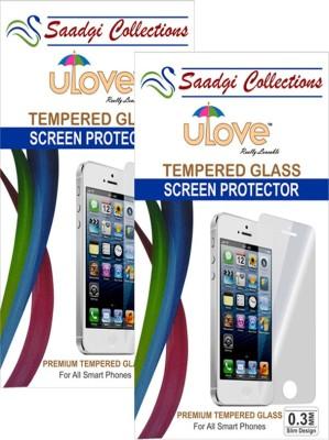 Saadgi Collections (G3)TG02 Tempered Glass for Motorola Moto G3