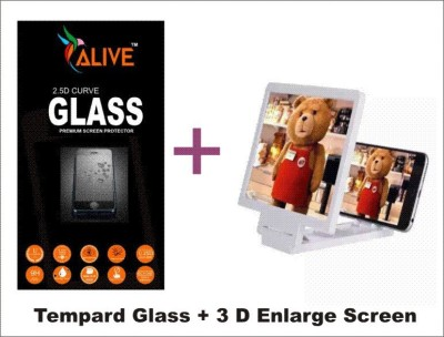Alive SAMSUNG ON 7 Tempered Glass for 2.5d Tempared Glass