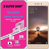 B SUPER SHOP Tempered Glass Guard for Xiaomi Redmi Note 3 Prime, Xiaomi Redmi Note 3 Pro, Xiaomi Redmi Note 3
