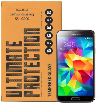Bigkik Tempered Glass Guard for Samsung Galaxy S5 G900