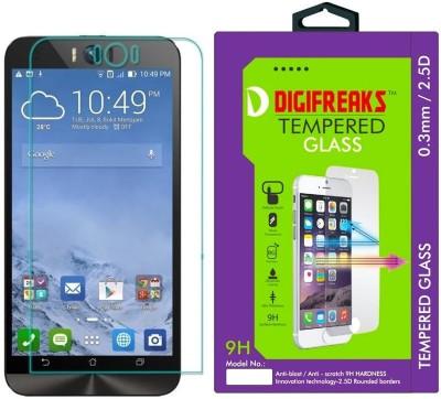 Digifreaks ZD551KL Oil Coated Screen Protector Tempered Glass for Asus Zenfone Selfie (ZD551KL) 5.5