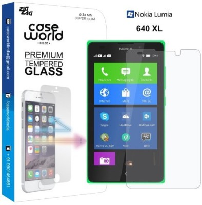 Case World Tempered Glass Guard for Nokia Lumia 640XL