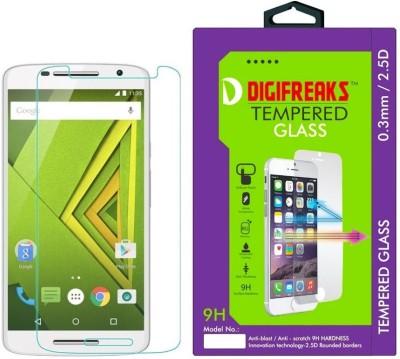 Digifreaks XT1562 Premium HD Screen Protector Tempered Glass for Motorola Moto X Play
