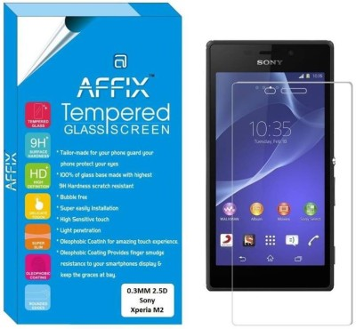 Affix Tempered Glass Guard for Sony Xperia M2
