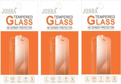 Johra T-92002 Pack of 3 Tempered Glass for Micromax Canvas Pluse 4G