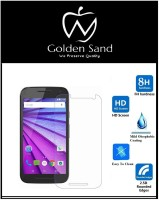 Golden Sand Tempered Glass Guard for Moto G 3rd generation