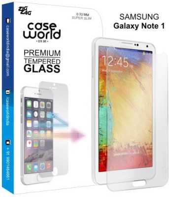 Case World Tempered Glass Guard for Samsung Galaxy Note 1