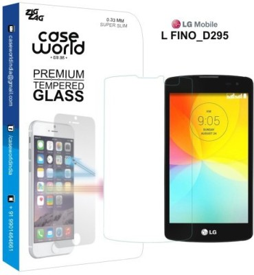 Case World D295 Tempered Glass for LG L Fino