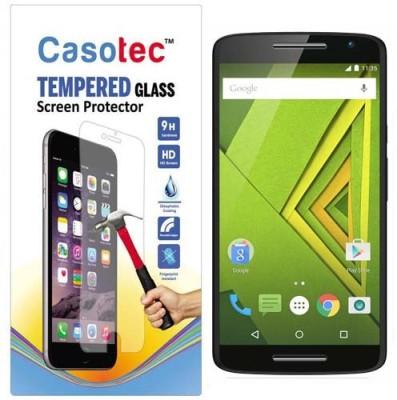 Casotec Tempered Glass Guard for Motorola Moto X Play