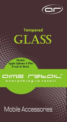 AIMS Retail API6P Tempered Glass for Apple Iphone 6 Plus Front & Back