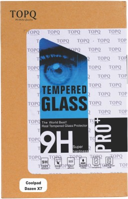 TOP Q Tempered Glass Guard for Coolpad Dazen X7
