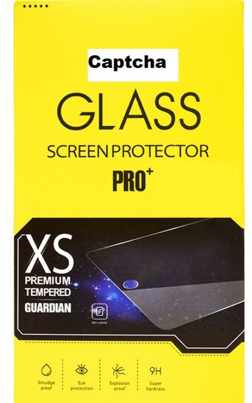 Captcha Premium Micromax compatible 0.3mm Shatter Proof / Mirror Scratch Resistant Glass23 Tempered Glass for Micromax Bolt A121