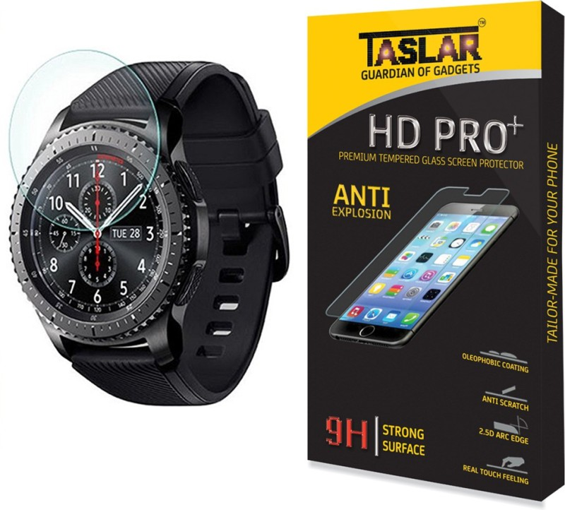 Taslar Tempered Glass Guard for Samsung Galaxy Gear S3 Classic,...