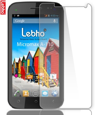 Lebho LBA110 Tempered Glass for Micromax Canvas 2 A110