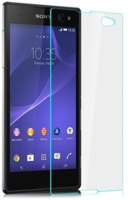 Rudra Traders RUDR.108 Tempered Glass for Sony Xperia C5