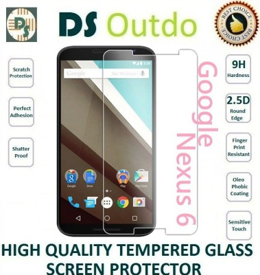 Outdo Tempered Glass Guard for Google Nexus 6