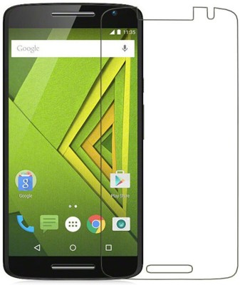 Muu Pack Of 2 Tempered Glass for Motorola Moto X Play