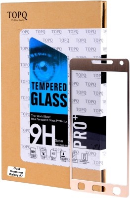 TopQ Tempered Glass Guard for Samsung Galaxy A7