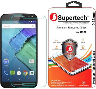 Supertech XT1572 HD Clear Screen Protector Tempered Glass for Motorola Moto X Style