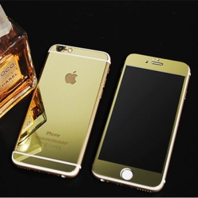 GG ENTERPRISES 6 6s gold Tempered Glass for Apple iPhone 6 6s